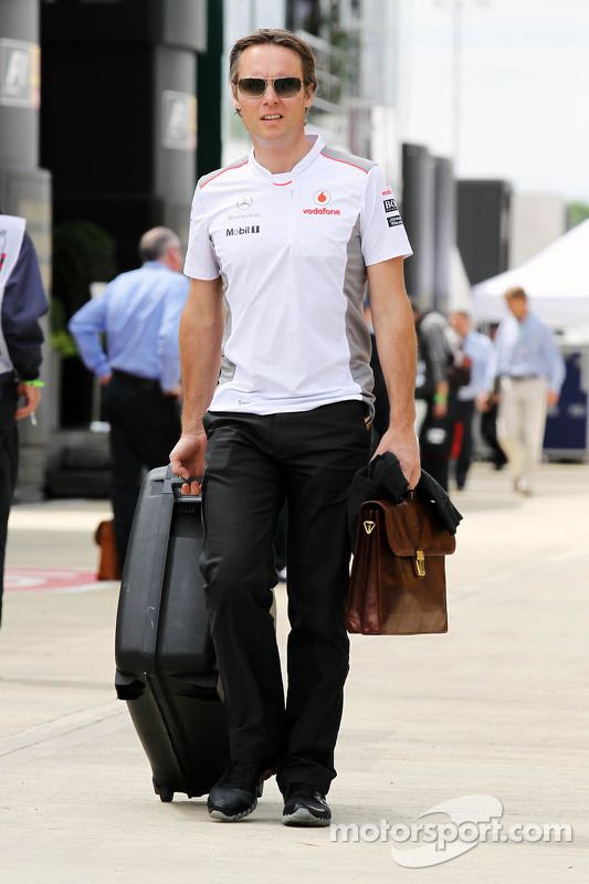 Sam Michael, McLaren Mercedes Mercedes Sporting Director