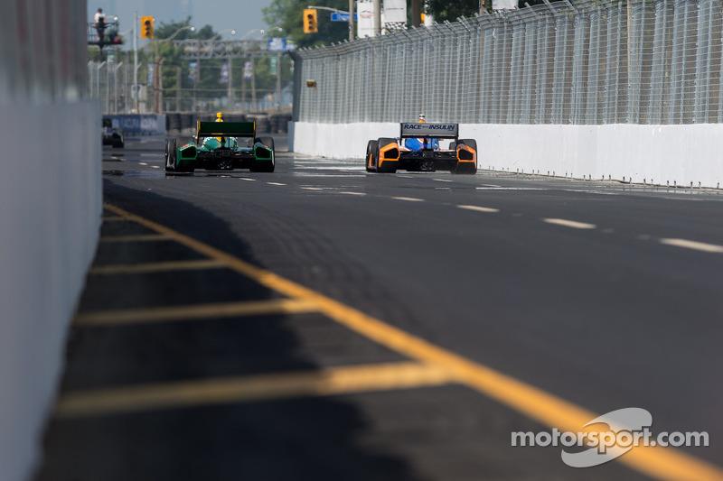 Charlie Kimball, Novo Nordisk Chip Ganassi Racing Honda, Simona de Silvestro, HVM Racing Lotus