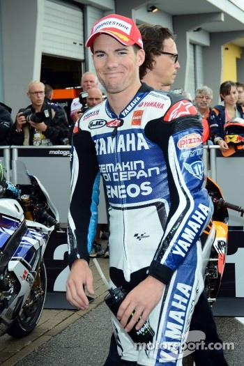 Second place qualifying Ben Spies, Yamaha Factory Racing