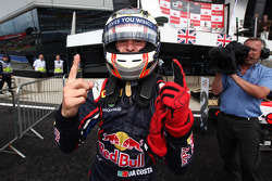 Race winner Antonio Felix Da Costa