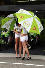 The lovely Pramac girls