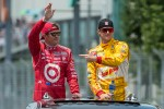 Scott Dixon and Ryan Hunter-Reay