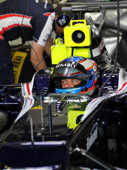 Valtteri Bottas, Williams Third Driver in the pits