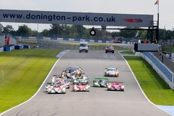 Start: #24 Oak Racing Morgan Judd: Jacques Nicolet, Matthieu Lahaye