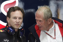 Christian Horner, Red Bull Racing, Sporting Director and Helmut Marko, Red Bull Racing, Red Bull Advisor