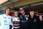 Pepe Oriola, SEAT Leon WTCC, Tuenti Racing Team, Norbert Michelisz, BMW 320 TC, Zengo Motorsport