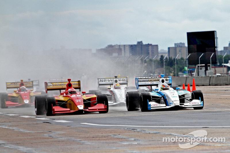 Indy Lights Race Start