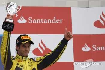 Podium: third place Felipe Nasr