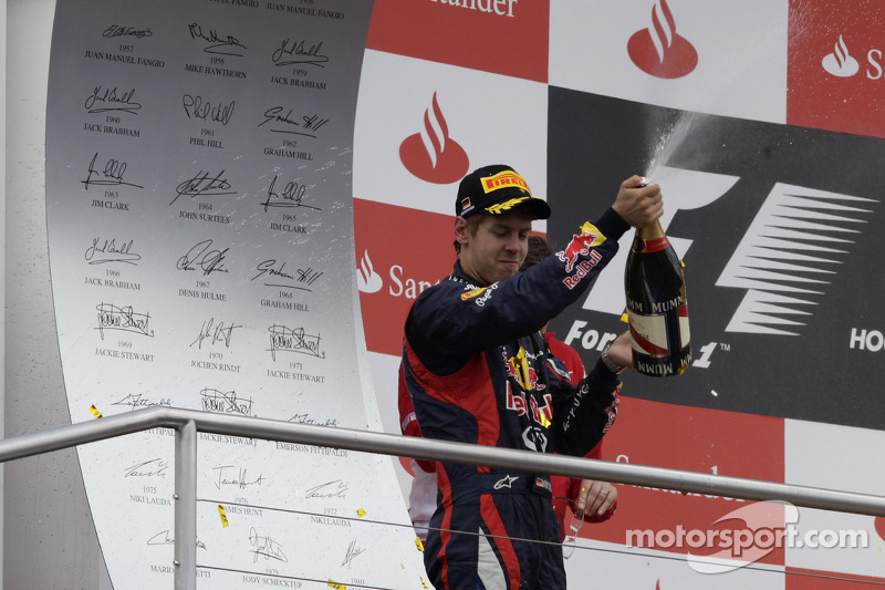 2nd Sebastian Vettel, Red Bull Racing