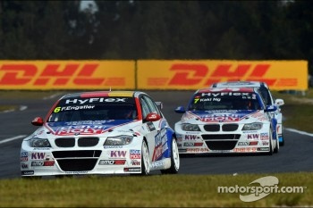 Franz Engstler, BMW 320 TC,  Liqui Moly Team Engstler and Charles Ng, BMW 320 TC, Liqui Moly Team Engstler