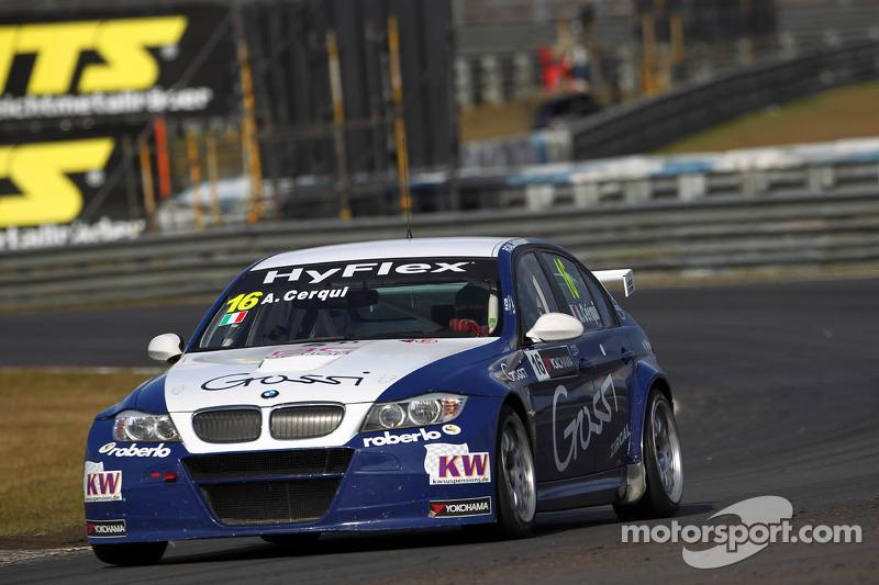 Alberto Cerqui, BMW 320 TC, ROAL Motorsport