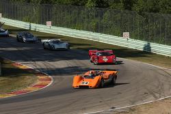 #54 1968 McLaren M6B : Jim Pace #18 1969 Lola T70 MkIIIB: Tony Bean #27 1968 Lola T70 MkIIIB : David Ritter #42 1965 McLaren M1B : Farrell Preston