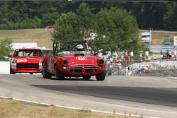 #09 1966 Sunbeam Tiger: Charles Glapinski #84 1972 Datsun 240Z: Michael Manser