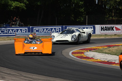 #47 1971 McLaren M8F: Mike Dunkel #27 1968 Lola T70 MkIIIB : David Ritter