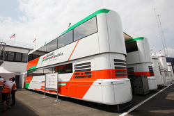 Sahara Force India F1 Team trucks