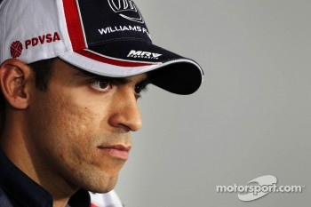 Pastor Maldonado, Williams in the FIA Press Conference