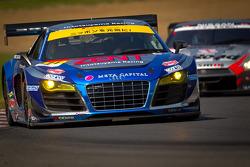 SUPERGT: #21 Hitotsuyama Racing Audi R8 LMS: Cyndie Allemann, Akihiro Tsuzuki
