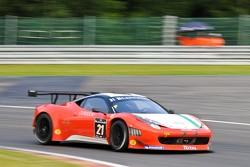 #21 Mtech Ferrari 458 Italia: Duncan Cameron, Matt Griffin, Mike Edmonds, Nicola Cadei