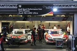 Audi Sport garage