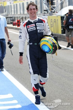 Real vacation in several years for Bruno Senna.