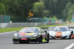 #73 Kessel Racing Ferrari 430 Scuderia: Paolo Andreasi, Pablo Paladino, Beniamino Caccia