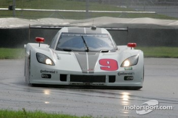 #9 Action Express Racing Corvette DP: Darren Law, Joao Barbosa