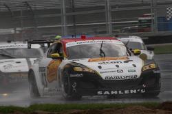 #43 Team Sahlen TheRaceSite.Com Mazda RX-8: Joe Nonnamaker, Wayne Nonnamaker