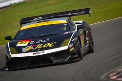 SUPERGT: #87 JLOC Lamborghini Gallardo LP600+ GT3: Kouji Yamanishi, Hideki Yamauchi