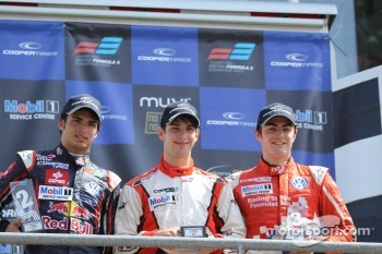Carlos Sainz Jr, Felix Serralles, Jack Harvey