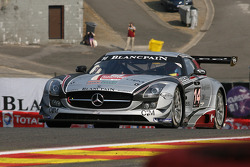 #14 KRK Racing Mercedes-Benz SLS AMG GT3: Dennis Retera, Rafael Vanthoor, Marius Ritskes, Anthony Kumpen