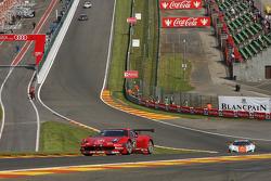 #42 Sport Garage Ferrari 458 Italia: Romain Brandela, Lionel Comole, Kevin Despinasse, Mickael Petit