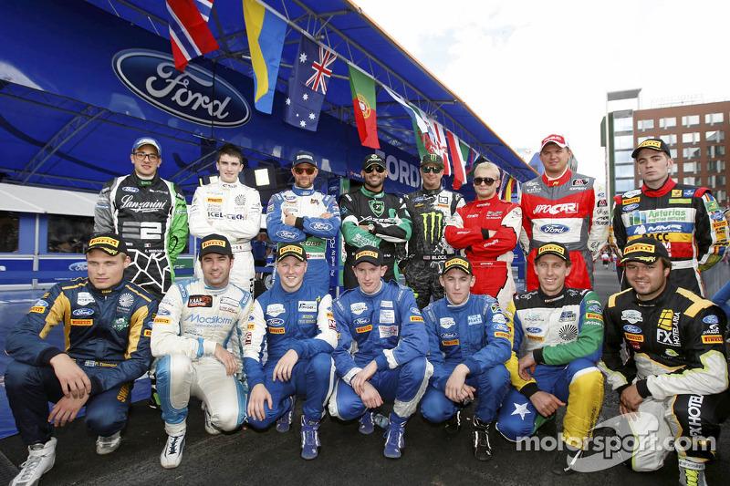M-Sport drivers
