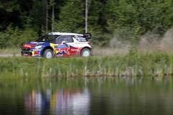 Mikko Hirvonen and Jarmo Lehtinen, Citroën DS3 WRC, Citroën Total World Rally Team