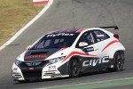 Tiago Monteiro tests the new Honda Civic