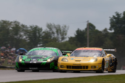 #02 Extreme Speed Motorsports: Ed Brown, Guy Cosmo, #3 Corvette Racing: Jan Magnussen, Antonio Garcia