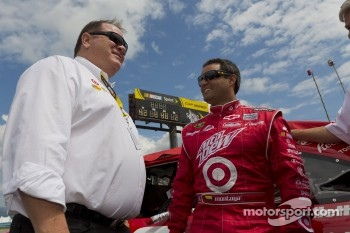 Juan Pablo Montoya and Chip Ganassi
