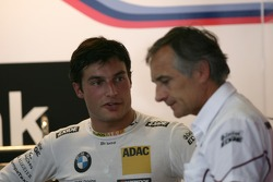 Bruno Spengler, BMW Team Schnitzer BMW M3 DTM with Charly Lamm, Teammanager BMW Team Schnitzer