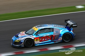 #21 Hitotsuyama Racing Audi R8 LMS: Cyndie Allemann, Akihiro Tsuzuki, Richard Lyons