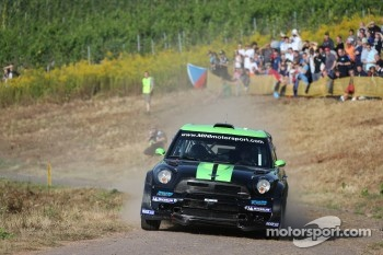 Chris Atkinson and Stéphane Prévot, Mini John Cooper Works WRC