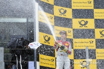 Podium: second place Mike Rockenfeller, Audi Sport Team Phoenix Racing