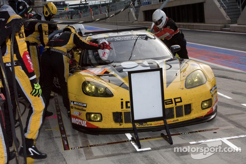 #50 Larbre Competition Chevrolet Corvette C6 ZR1: Patrick Bornhauser, Julien Canal, Fernando Rees