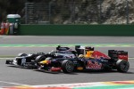 Bruno Senna, Williams F1 Team and Sebastian Vettel, Red Bull Racing