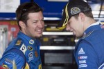 Martin Truex Jr. and Brad Keselowski