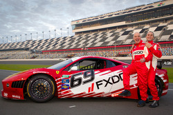 #69 AIM Autosport Team FXDD Racing with Ferrari Ferrari 458: Emil Assentato and Jeff Segal