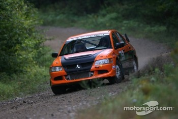 Maxime Losier and Stphane Lewis, Mitsubishi EVO VIII