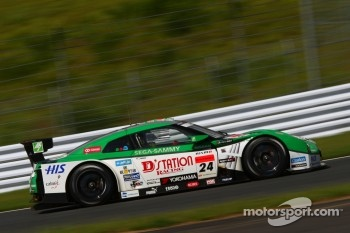 #24 Kondo Racing Nissan GT-R: Hironobu Yasuda, Bjorn Wirdheim