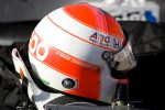 Helmet for Wade Cunningham, A.J. Foyt Racing Honda