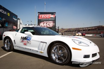 Corvette pace car for the MAVTV 500