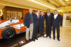 Jacques Nicolet with VIPs
