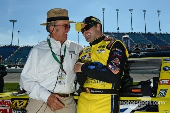 Ricky Stenhouse Jr. and Jack Roush